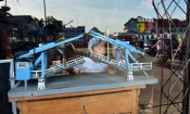 Makieta starego mostu zwodzonego