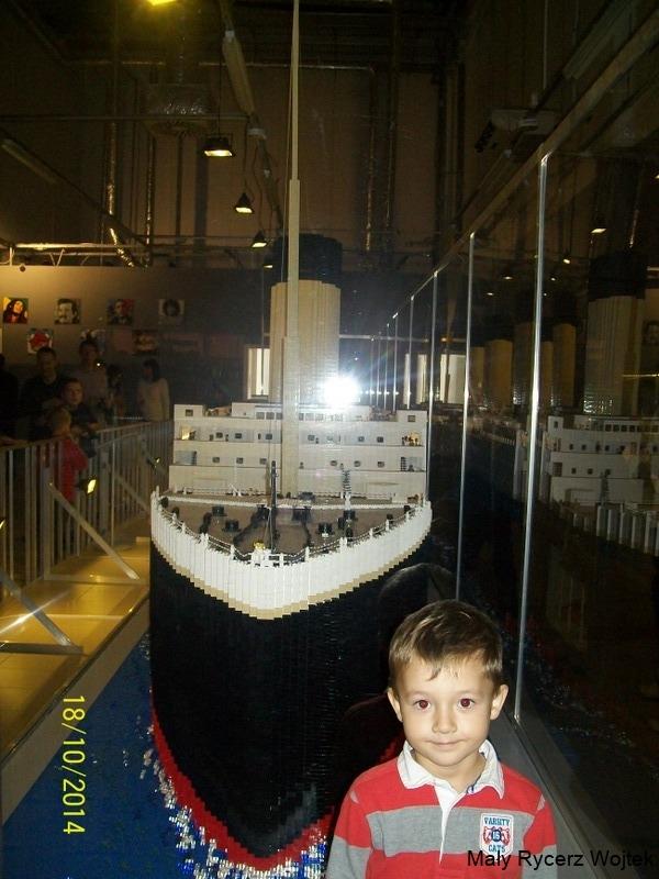 Wystawa klocków Lego - Titanic 100_5497