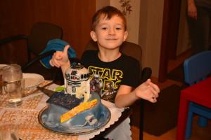 Wojtek i tort urodzinowy